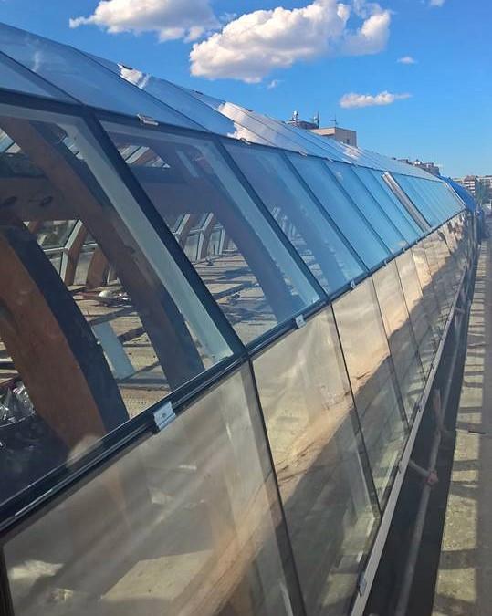 Nyéki Imre Uszoda tető
